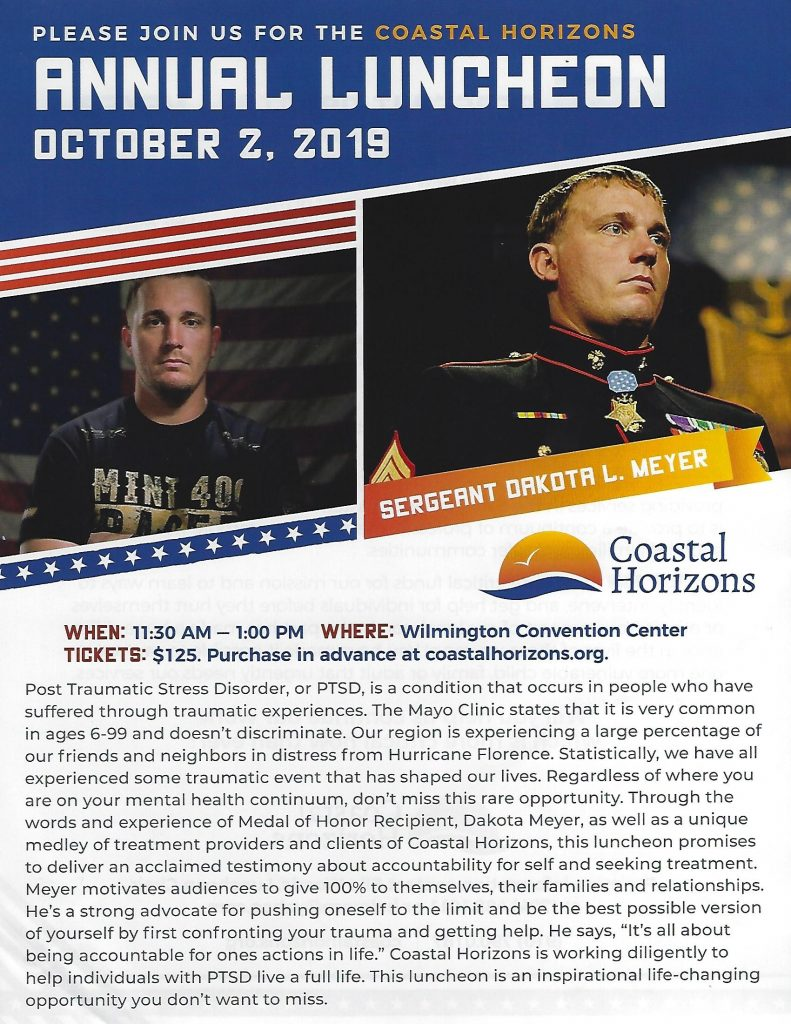 Coastal Horizons Annual Luncheon page 1